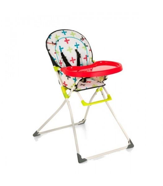 Chaise haute Mc Baby motifs croix