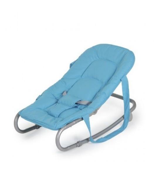 Transat balancelle bébé couleur bleu