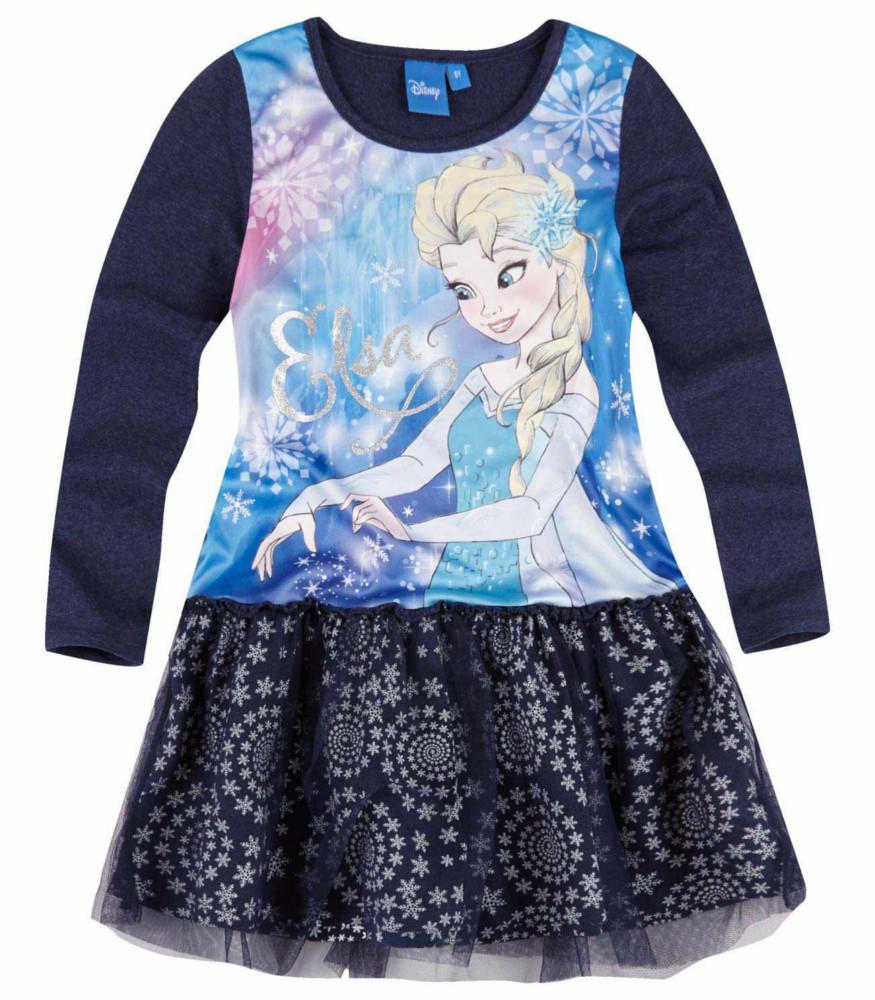 Robe bleu marine reine des neiges