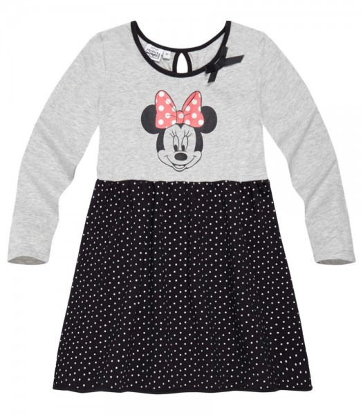 Disney Minnie robe gris et noir