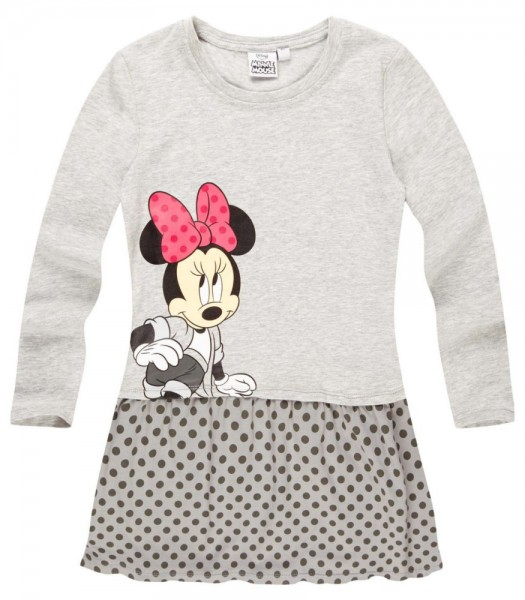 Disney Minnie robe gris clair