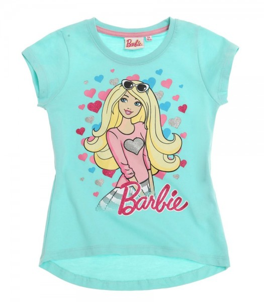 Barbie Tee shirt bleu