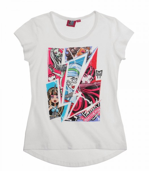 Monster High Tee shirt blanc