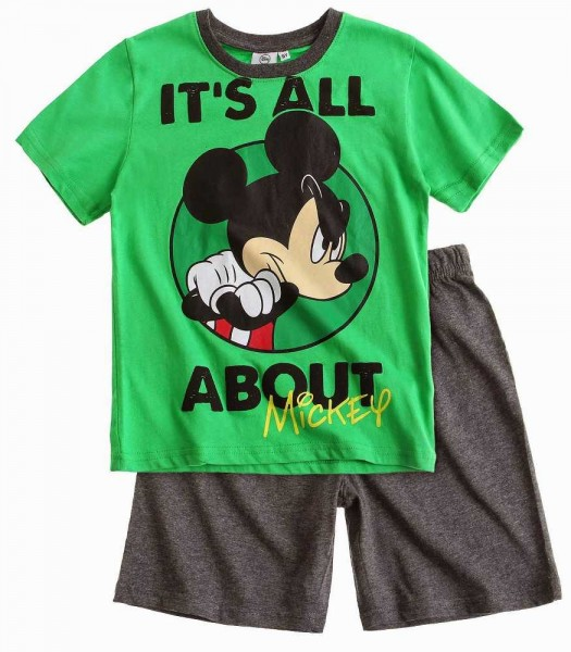 Disney Mickey Tee shirt et short