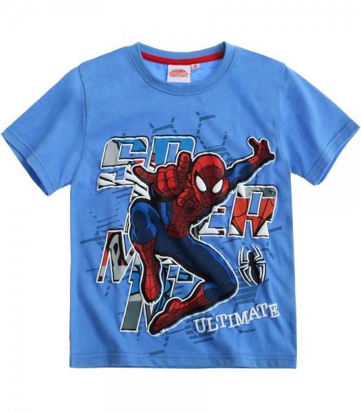 Spiderman tee-shirt bleu
